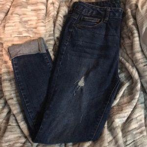 Fashion Nova wax jeans